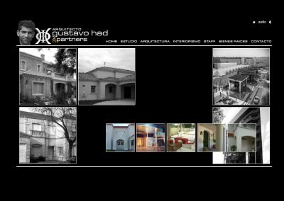 Sitio web Arquitecto Had