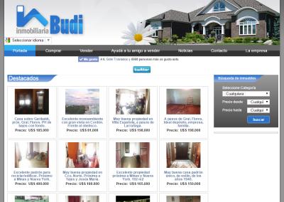 Sitio Web para Inmobiliaria