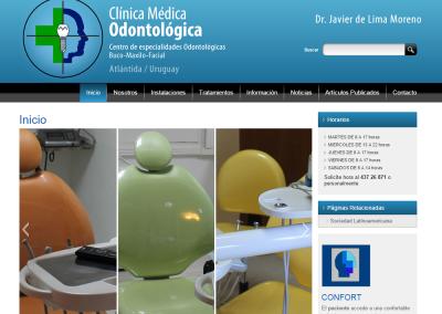 Sitio web consultorio odontológico