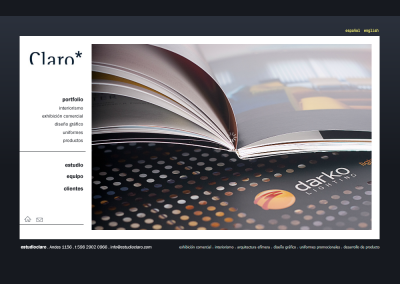 Sitio web interiorismo