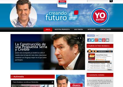 Web para agrupación política