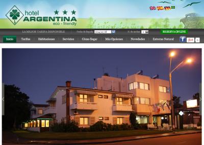 Sitio web hotel