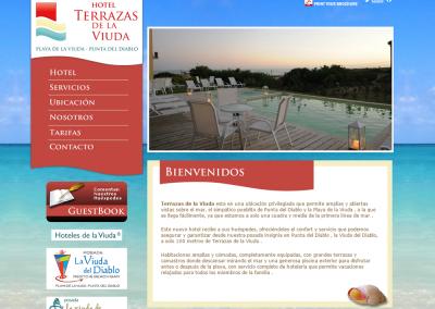 Sitio web para hotel