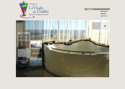 Sitio web posada
