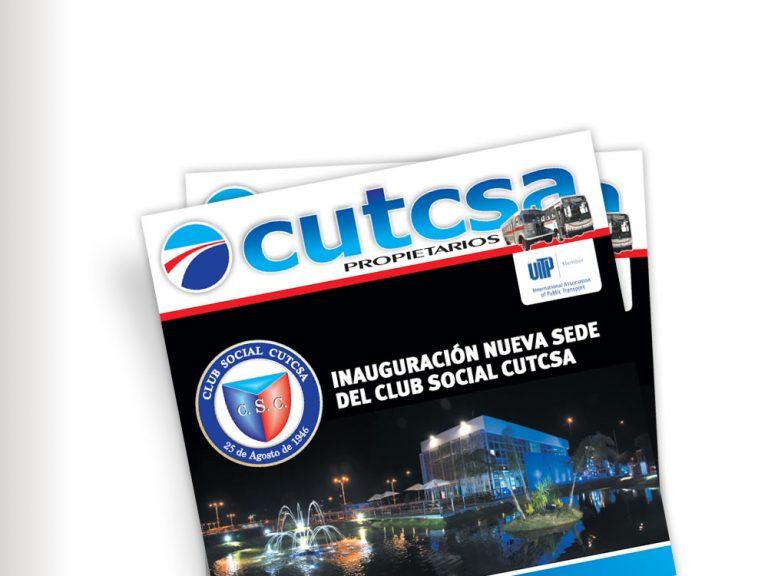Diseño de revista para Cutcsa
