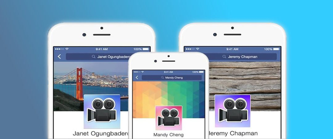 Facebook: videoclips como foto de perfil